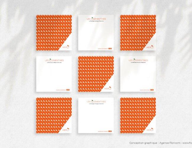 Calendrier - Conception graphique Agence Floricom