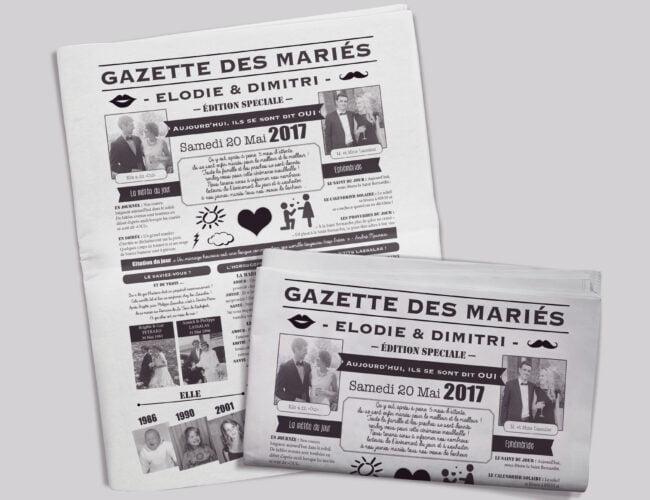 Gazette des mariés