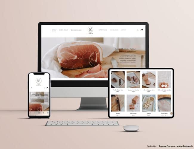 Site web, site e-commerce, site internet, conception de site internet, agence floricom, auvergne.